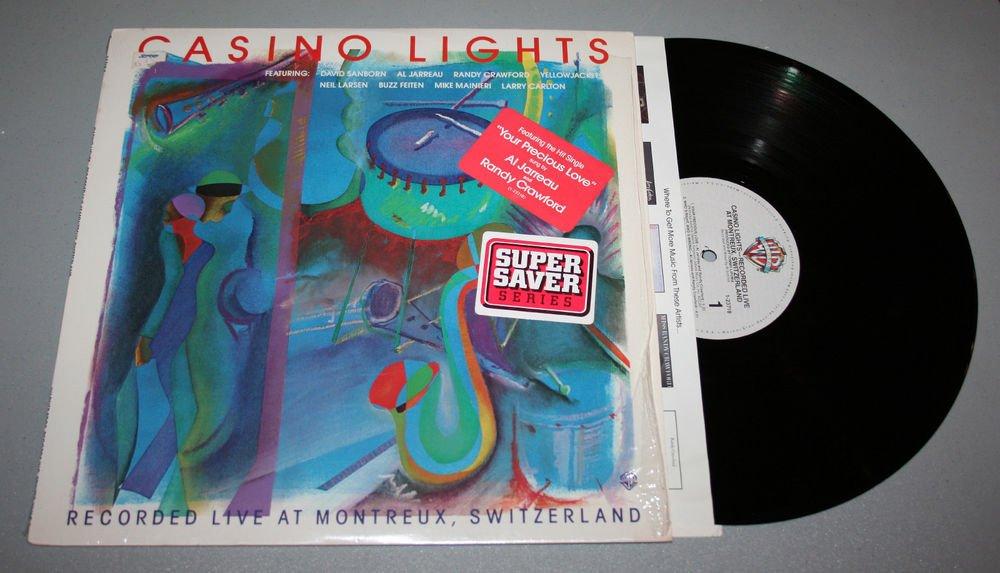 "Jarreau, Sanborn & More ""Casino Lights"" (23718-1) - Vinyl / LP / In-Shrink / EX"