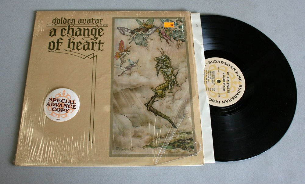 "Golden Avatar ""A Change of Heart"" (SD-1) - Vinyl / LP / 1st Pressing / VG+"