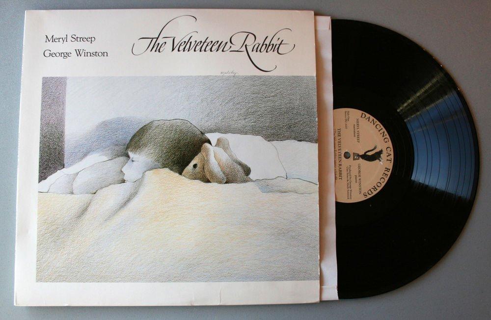 "Meryl Streep & George Winston ""The Velveteen Rabbit"" (DC 3007) - Vinyl / LP / NM"