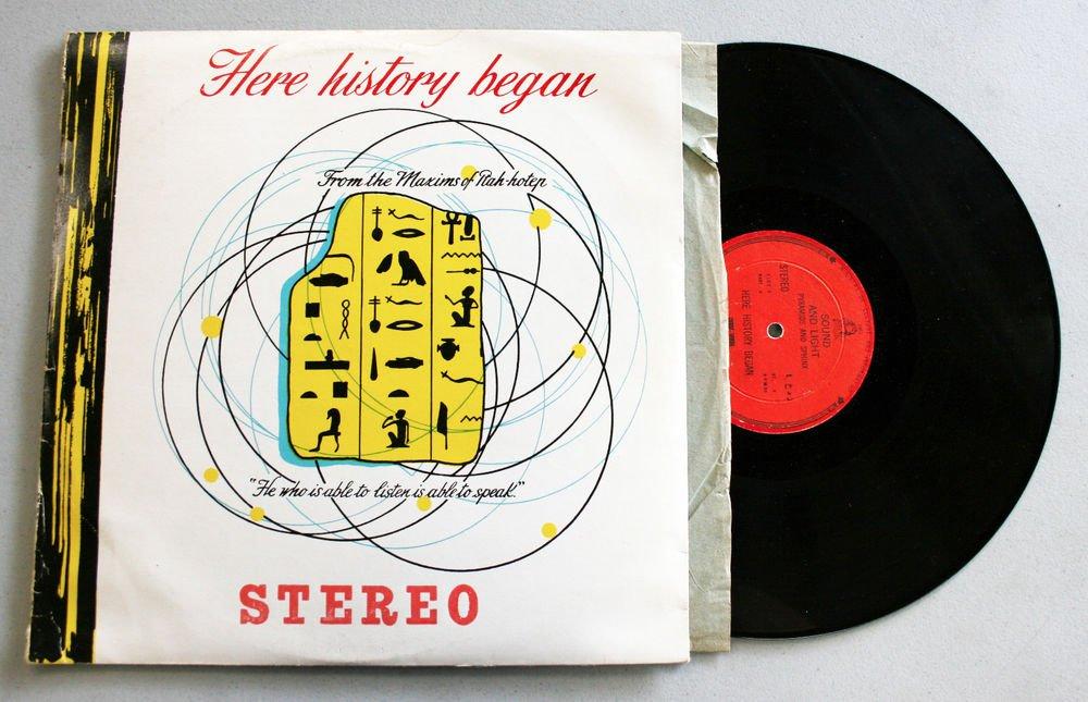 """George Delerue & Halim El Dabe """"Here History Began"""" - Vinyl / 2xLP / VG+"""