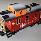 NEW BRIGHT Santa Fe Caboose - G Scale Railroad / Red
