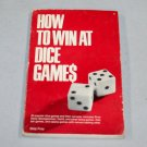 How to Win at Dice Games by Skip Frey (1976, Paperback, Reprint)