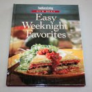 SOUTHERN LIVING - Our Best Easy Weeknights Favorites Cookbook (1998, Hardcover)