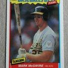 """1987 FLEER BASEBALL """"Baseball's Best"""" - Mark McGwire (#26)"""