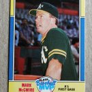 "1988 FLEER BASEBALL ""Baseball MVP"" - Mark McGwire (#23)"