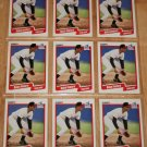 Lot of (9) 1990 FLEER BASEBALL - Robin Ventura Cards