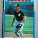 """1988 FLEER BASEBALL """"Baseball's League Leaders '88"""" - Mark McGwire (#26)"""
