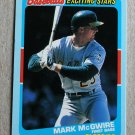 "1989 FLEER BASEBALL ""Exciting Stars"" - Mark McGwire (#32)"