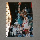 1994-95 UPPER DECK SP BASKETBALL - Charlotte Hornets (5) Card Team Set