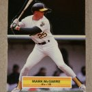 "1989 DONRUSS BASEBALL ""Pop-Up"" - Mark McGwire (#1)"