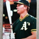 "THE PRESS BOX ""Collector's Choices of the 1980's"" Mark McGwire (#15) Oddball"