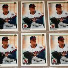 Lot of (6) 1990 UPPER DECK BASEBALL - Jim Abbott Cards