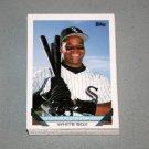 1993 TOPPS BASEBALL - Chicago White Sox Team Set (Series 1 & 2)