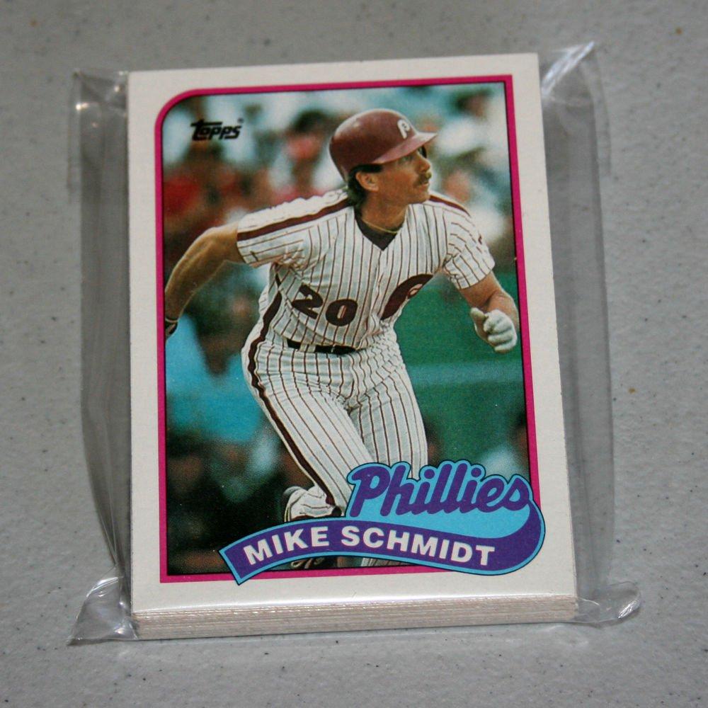 1989 TOPPS BASEBALL - Philadelphia Phillies Team Set