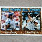 1994 TOPPS BASEBALL - 1993 Topps All Stars Complete Sub-Set