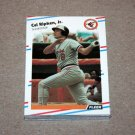 1988 FLEER BASEBALL - Baltimore Orioles Team Set