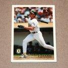 1996 TOPPS BASEBALL - Oakland Athletics Team Set (Series 1 & 2)