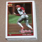 1991 TOPPS BASEBALL - St. Louis Cardinals Team Set + Traded Series