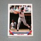 1993 TOPPS BASEBALL - Boston Red Sox Team Set (Series 1 & 2)