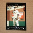 2007 TOPPS BASEBALL - San Francisco Giants Team Set (Series 1 & 2)