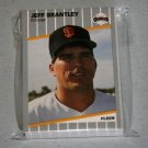 1989 FLEER BASEBALL - San Francisco Giants Team Set + Update Series