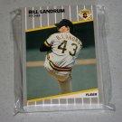 1989 FLEER BASEBALL - Pittsburgh Pirates Team Set + Update Series