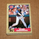 1987 TOPPS BASEBALL - Chicago Cubs Team Set