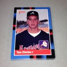 1988 DONRUSS BASEBALL - Atlanta Braves Team Set
