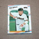 1988 FLEER BASEBALL - San Fransisco Giants Team Set + Update Series