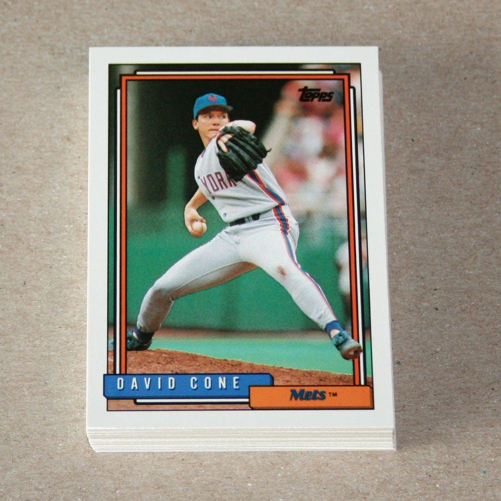 1992 TOPPS BASEBALL - New York Mets Team Set + Traded Series