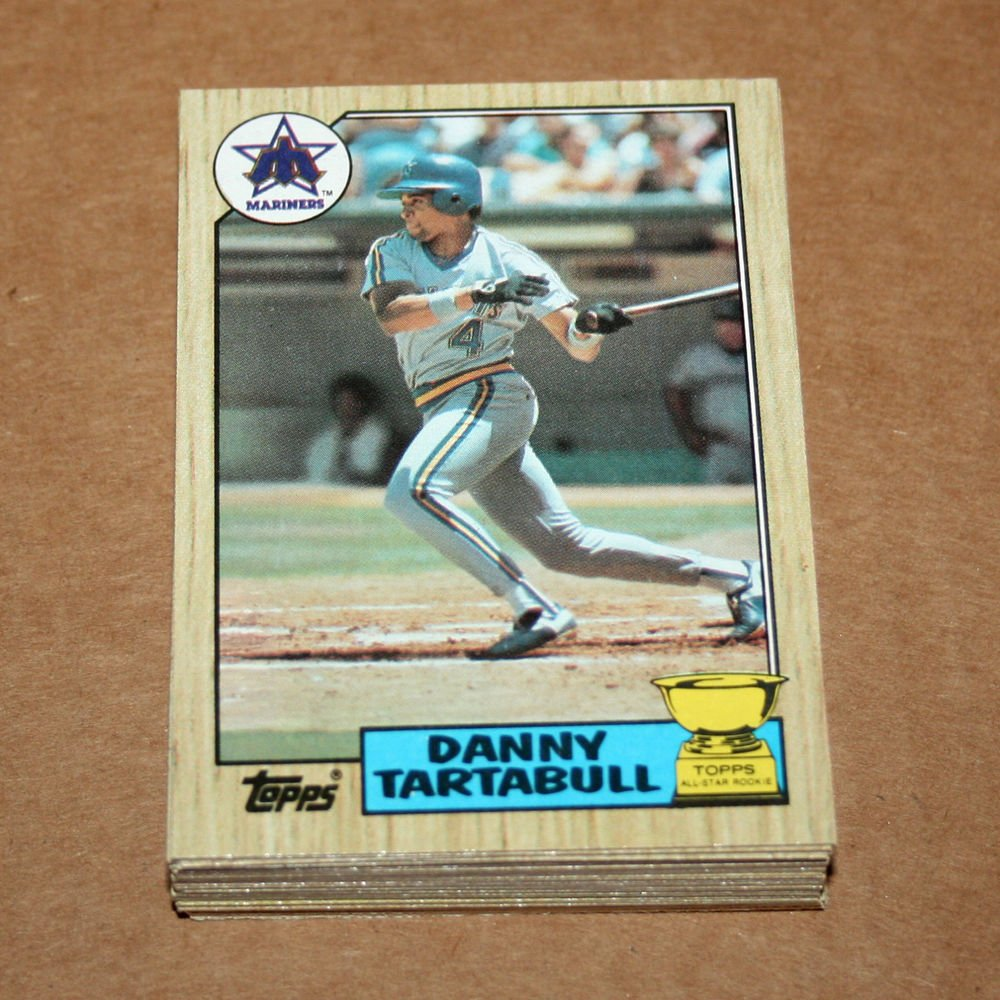 1987 TOPPS BASEBALL - Seattle Mariners Team Set + Traded Series
