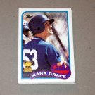 1989 TOPPS BASEBALL - Chicago Cubs Team Set + Traded Series