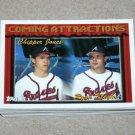 1994 TOPPS BASEBALL - Atlanta Braves True Team Set with Traded Series