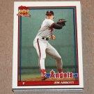 1991 TOPPS BASEBALL - California Angels Team Set + Traded Series