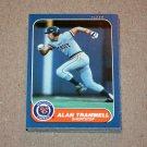 1986 FLEER BASEBALL - Detroit Tigers Team Set + Update Series