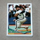 1994 TOPPS BASEBALL - Houston Astros True Team Set with Traded Series