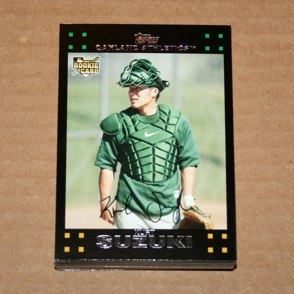 2007 TOPPS BASEBALL - Oakland A's True Team Set + Updates & Highlights