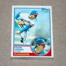 1983 TOPPS BASEBALL - Texas Rangers Team Set + Traded Series