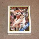 1988 TOPPS BASEBALL - Houston Astros Team Set + Traded Series