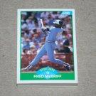 1989 SCORE BASEBALL - Toronto Blue Jays Team Set + Rookie & Traded Series
