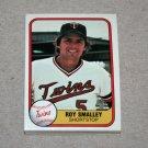 1981 FLEER BASEBALL - Minnesota Twins Team Set