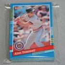 1991 DONRUSS BASEBALL - Detroit Tigers Team Set