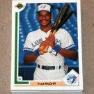 1991 UPPER DECK BASEBALL - Toronto Blue Jays True Team Set (Low/High/Final)