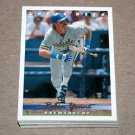 1993 UPPER DECK BASEBALL - Milwaukee Brewers Team Set (Series 1 & 2)