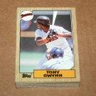 1987 TOPPS BASEBALL - San Diego Padres Team Set