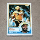 1983 TOPPS BASEBALL - Pittsburgh Pirates Team Set + Traded Series