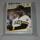 1989 FLEER BASEBALL - Pittsburgh Pirates Team Set