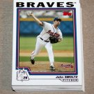 2004 TOPPS BASEBALL - Atlanta Braves Team Set (Series 1 & 2)