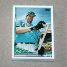 1994 TOPPS BASEBALL - Florida Marlins True Team Set with Traded Series
