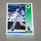 1992 SCORE BASEBALL - Seattle Mariners Team Set + Rookie & Traded Series